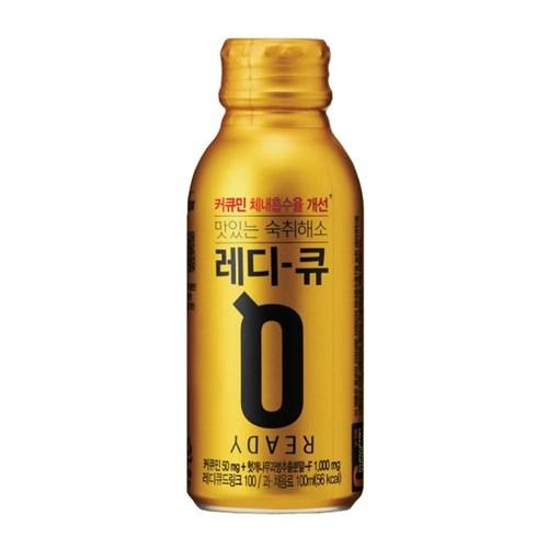 READY Q 맛있는 숙취해소 음료! 레디-큐 드링크 100ML X 20병