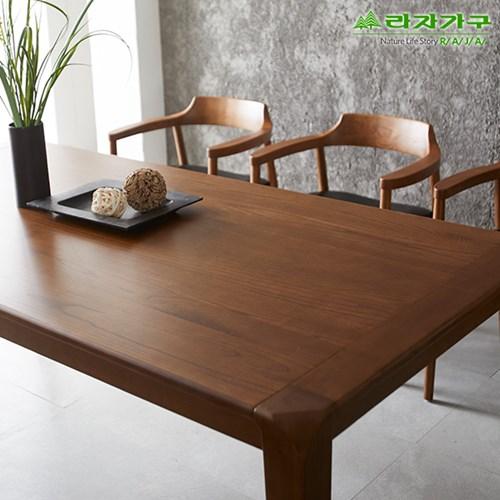 라자가구 오브 베니 애쉬원목 6인식탁테이블 NA0159