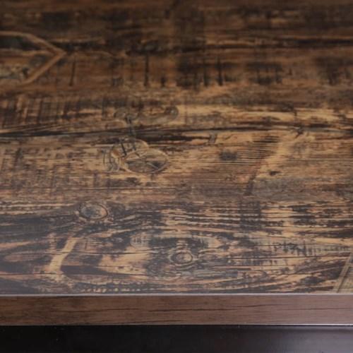 [가구느낌] 브라운시계LPM-600사각-3인치 티테이블 카페_(960725)