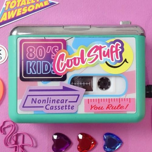 Cassette Sticker Pack_Violet Disco