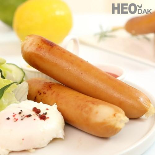 [허닭] 닭가슴살 소시지 후랑크 오리지널 70g