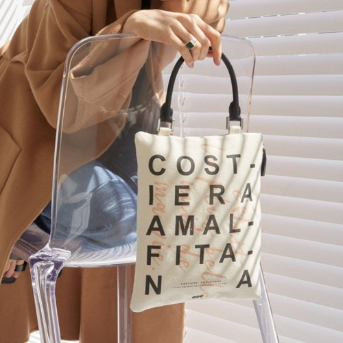 아말피 클러치/토트백 (Amalfi clutch/tote bag)