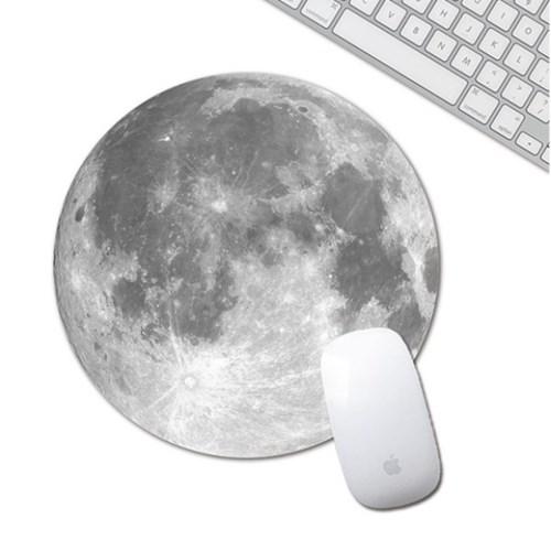 갓샵 핵인싸템! 달 지구 마우스 패드 예쁜 캐릭터 행성 2종