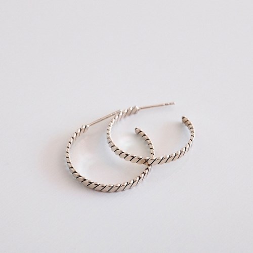 (92.5 silver) antique ring earring