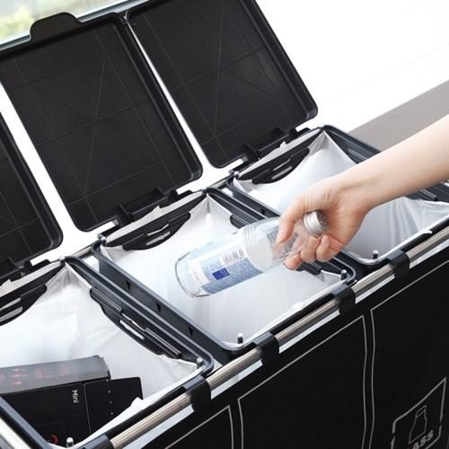 패브릭 커버 분리수거함 전용비닐 50매
