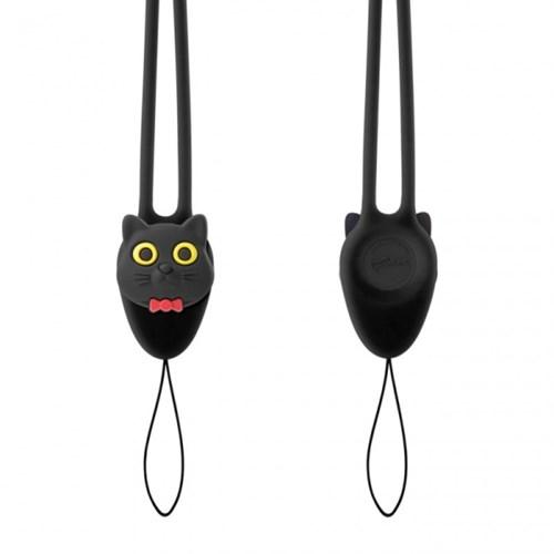 디즈니 참랜야드플러스 고양이 넥스트랩