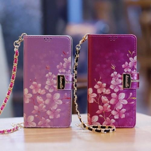 LG X6 2019 (LG X625) Encanto-Cerezo-H 지퍼 지갑 다이어리 케이스