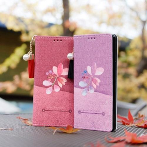 LG X6 2019 (LG X625) Ventosa-QChasse-T 수제 지갑 다이어리 케이스