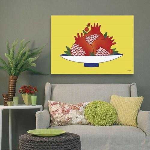 소과도 석류 - 민화 일러스트 포스터 액자