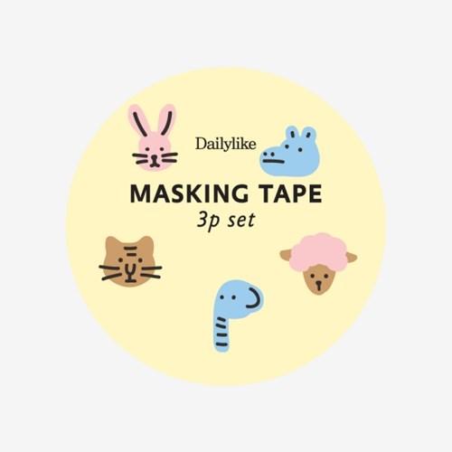 Masking tape 3p set - 02 Friends