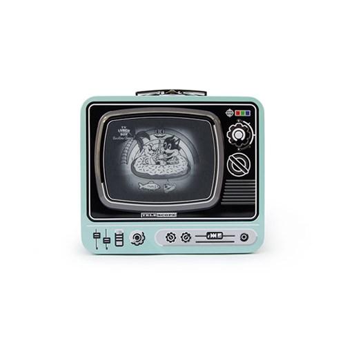 [썩유케이] TV 런치박스 도시락 가방 민트_(1707238)