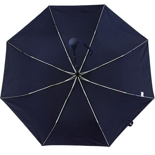 A0478 무지 네이비 3단자동우산