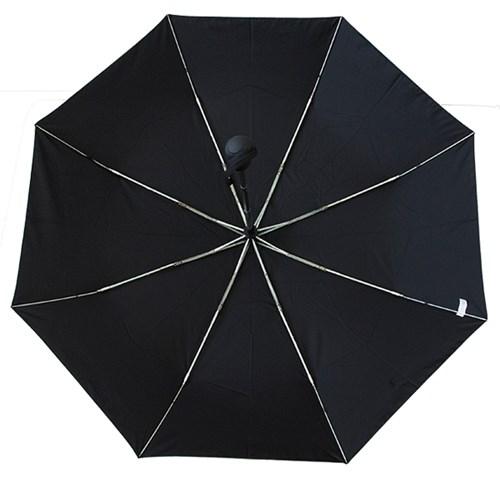 A0479 무지 블랙 3단자동우산