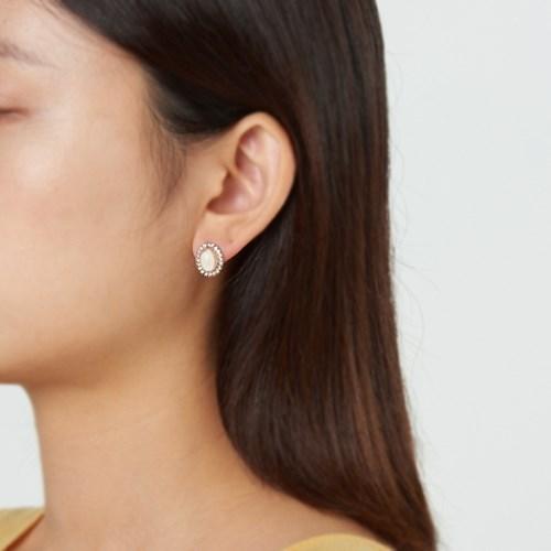 블링원석 귀걸이
