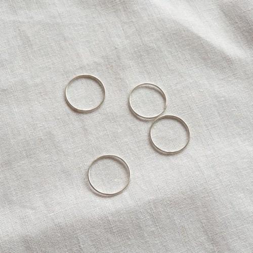 [SET] Band Ring 2qty - Silver925