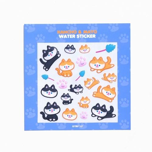 KANCHO & MAYO water sticker