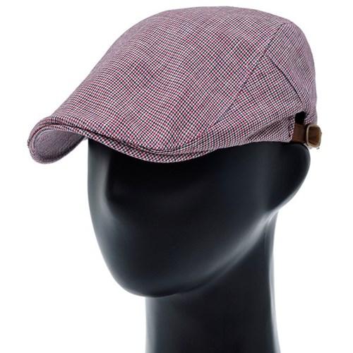 [더그레이]PMH49.마혼방 스타체크 헌팅캡 남성 모자