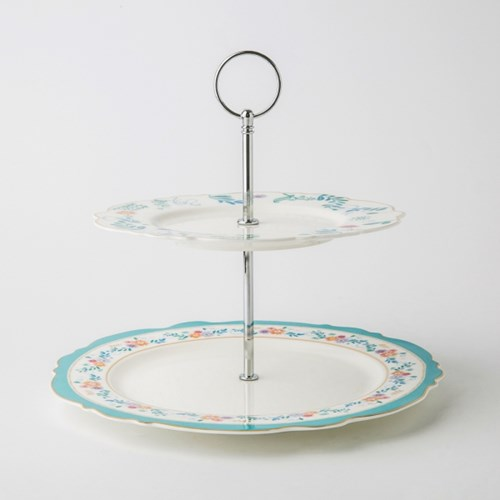 [디즈니] 앨리스_Cake Plate (2단)