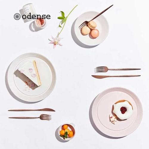 [오덴세] 아틀리에 한정 핑크,화이트 접시 세트 (4P)_(1353494)