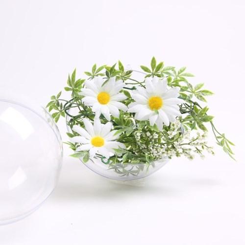 투명 행잉 데코 - 원형(20cm)