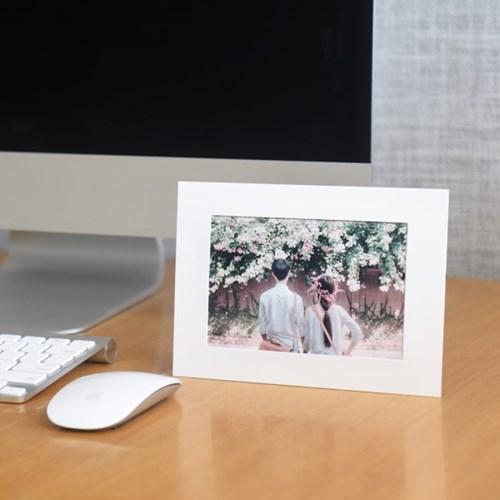 스탠딩 페이퍼프레임 - 4x6 화이트 5매 (종이액자)