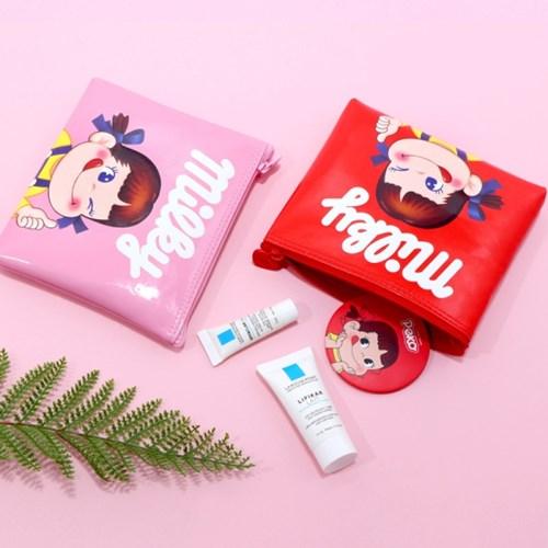 페코 에나멜 납작 화장품 파우치_(4049178)
