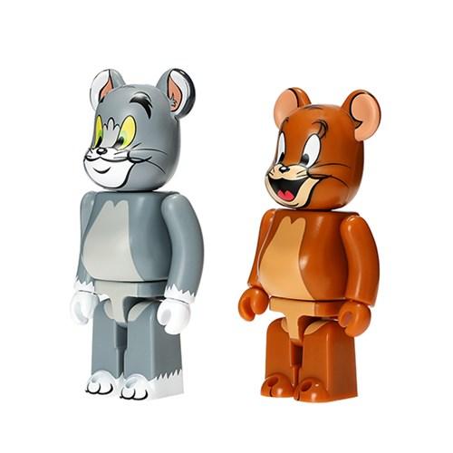 [KINKI ROBOT]100%BEARBRICK TOM AND JERRY 2PACK 톰과제리(1908002)