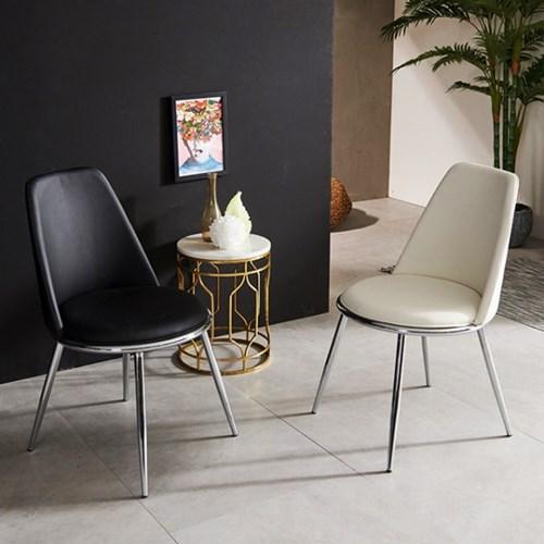 의자 1+1 체어 카페의자 1인용의자 가죽의자 식탁의자_(2352390)