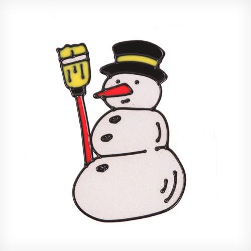 눈사람 글라스스티커 중 20cm 트리 크리스마스 TRMBLS_(1389947)