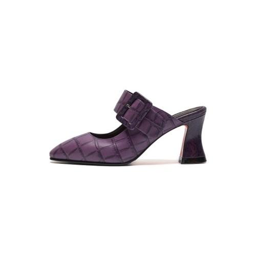 Buckle point mule 2(Purple)