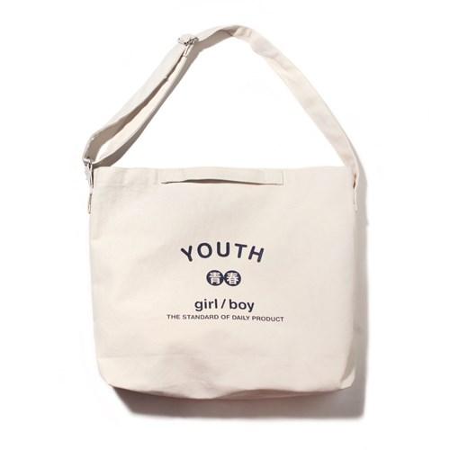 YOUTH 2WAY BAG-IVORY