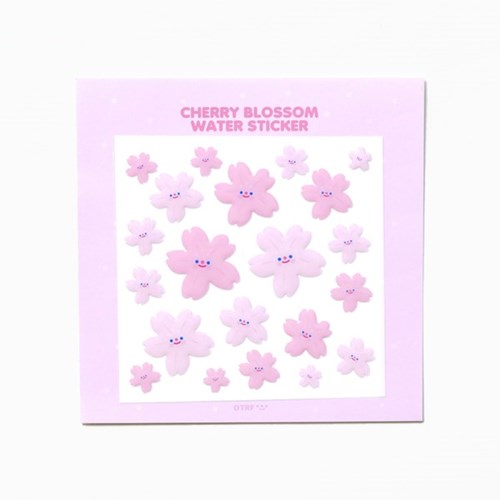 CHERRY BLOSSOM water sticker