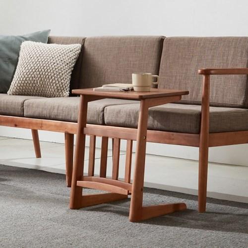 리치 원목 사이드 소파 테이블 Medium