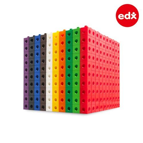 [EDX] 창의수학 링크멀티 큐브블록 1000PCS (12012)