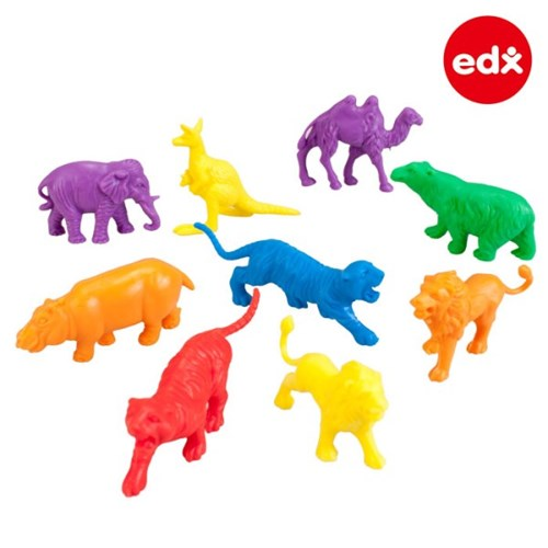 [EDX] 야생동물 모형 수세기 120PCS (13026C)
