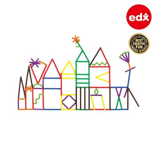 [EDX] 점과 선 지오스틱스 200PCS (활용서30포함) (21365C)