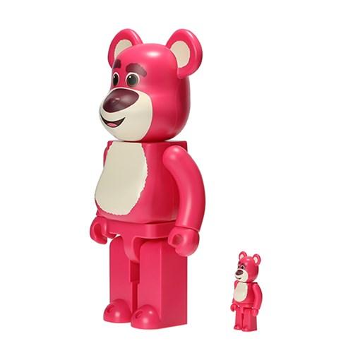 [KINKI ROBOT]400%+100%BEARBRICK LOTS O HUGGIN BEAR (1908014)