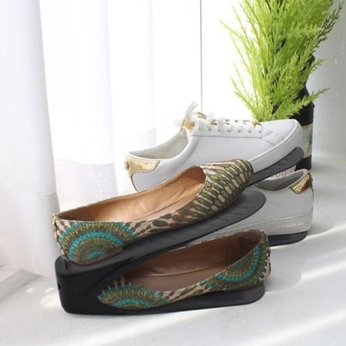 신발정리대(슈즈렉) 20P세트(그레이,블랙)_(12322192)