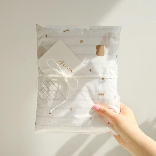 고급 친환경 포장지 모리너파크 (3장)