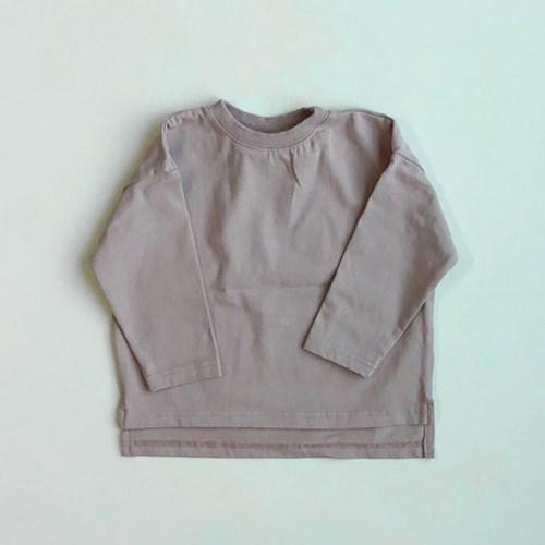 엔) 베이직 아동 트임 티셔츠