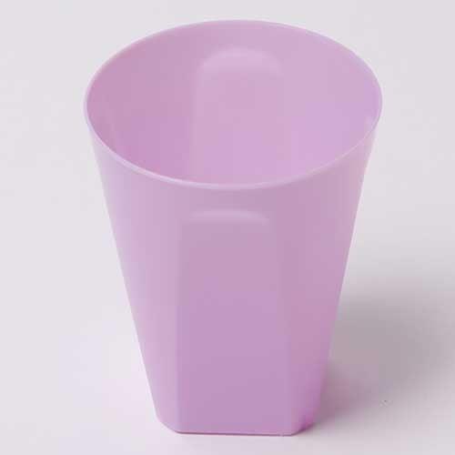 칼라 파티컵 사각-라일락(6입)