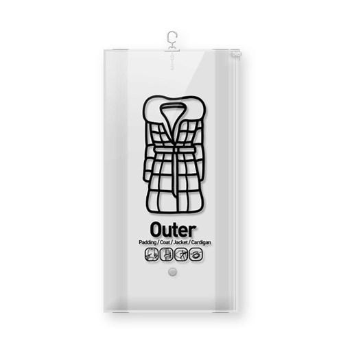 위생 방습 옷걸이형 진공 압축팩 Outer ZIP 입체형_(1085660)