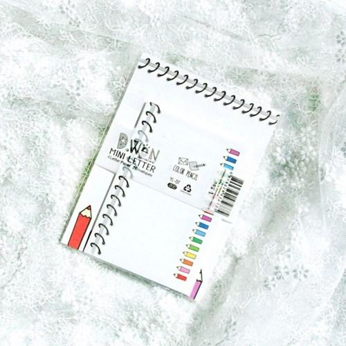 디원 연필 편지지 (YL07)