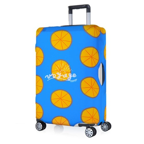 [Travel Mate] Voyage 캐리어커버 - 오렌지 블루