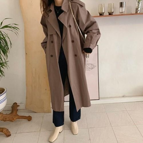 루브르트렌치 coat (2color)