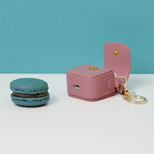 FENNEC LEATHER AIRPODS CASE - ROSE PINK