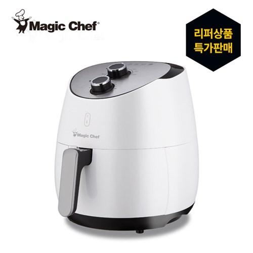 [리퍼] 매직쉐프 에어프라이어 (5L 기계식 화이트)