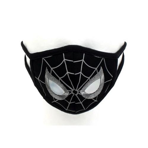 스파이더맨 블랙 필터 마스크