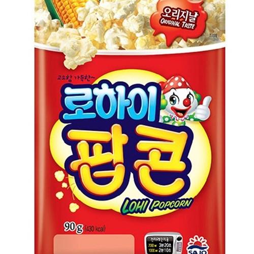 사조 전자렌지3분OK 팝콘오리지널90gx12봉