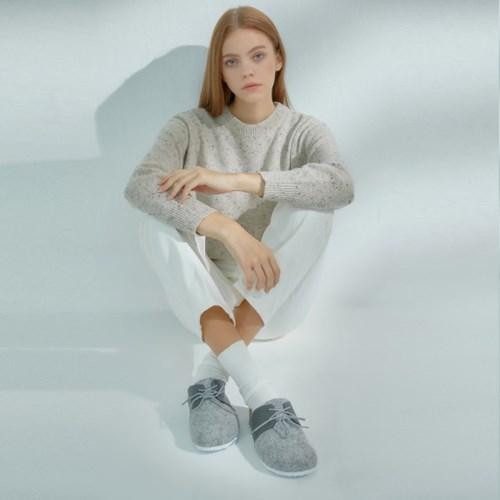 클래식 몽 슬리퍼-Light Grey